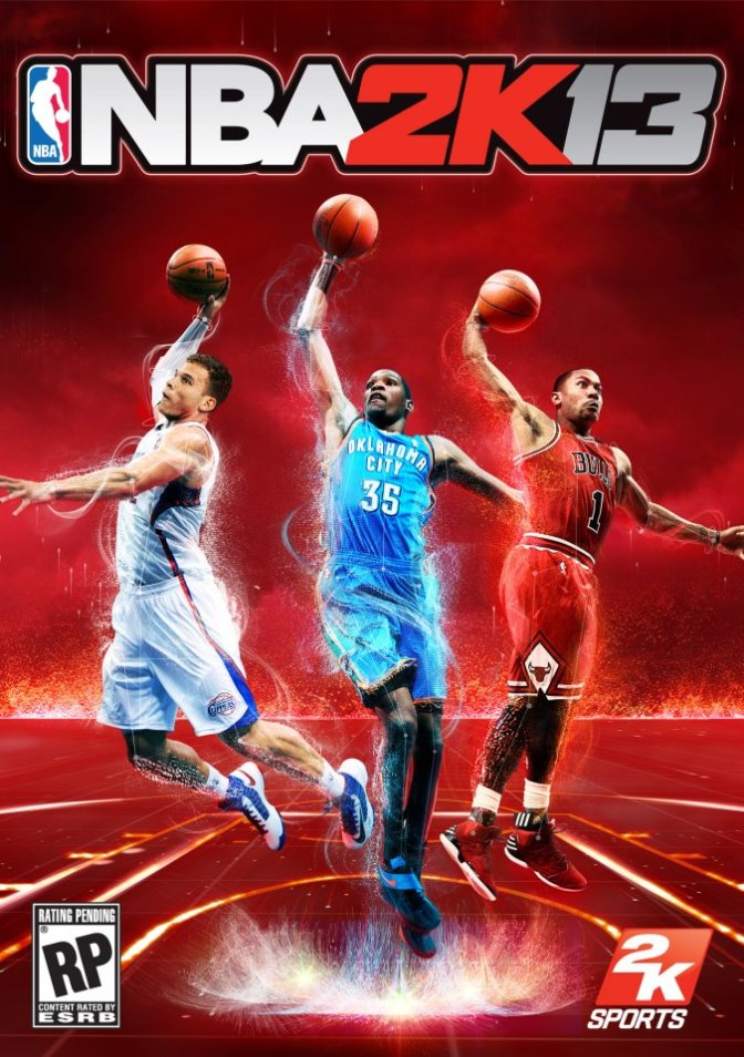 *Video Games* NBA 2K13 Cover